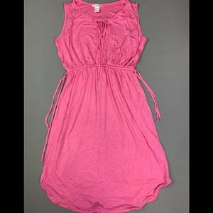 Gently used pink dress